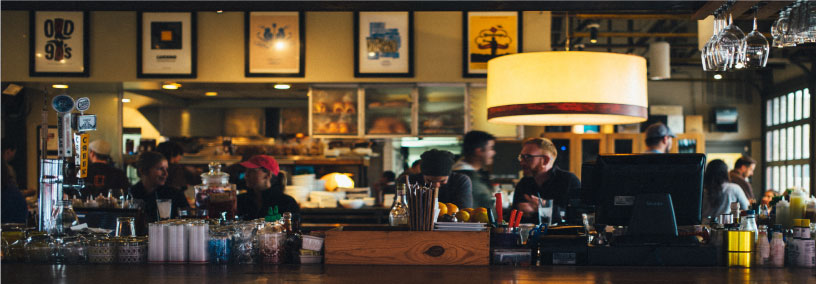 Restaurant guests and upsell opportunities